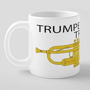 TRUMPET-TRUMPET-PNG 20 oz Ceramic Mega Mug