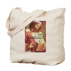Euclid: Math and Philosophy Tote Bag