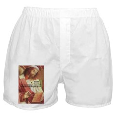 Euclid: Math and Philosophy Men's Boxers