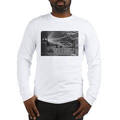 Alternating Current: Tesla Long Sleeve T-Shirt