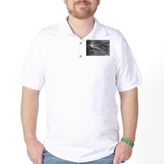 Alternating Current: Tesla Golf Shirt