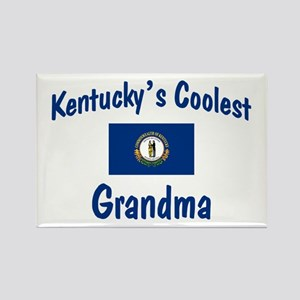 Coolest Kentucky Grandma Rectangle Magnet