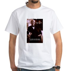 Imagination Thomas Edison White T-Shirt