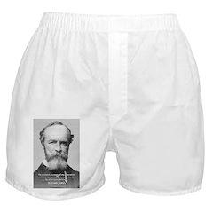Positive Thinking William James Underwear