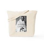 Loyalty to Cause: Gandhi Tote Bag