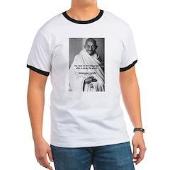 Loyalty to Cause: Gandhi T
