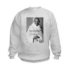 Loyalty to Cause: Gandhi Sweatshirt
