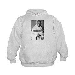 Loyalty to Cause: Gandhi Hoodie
