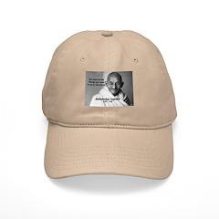 Loyalty to Cause: Gandhi Baseball Cap