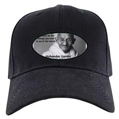 Loyalty to Cause: Gandhi Baseball Hat