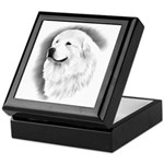 Great Pyrenees Headstudy Keepsake Box