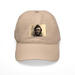Philosophy / Nature: Thoreau Baseball Cap