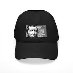 Philosophy / Nature: Thoreau Baseball Hat