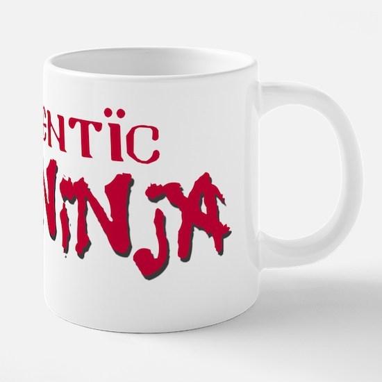 AuthenticCodeNinja.png 20 oz Ceramic Mega Mug