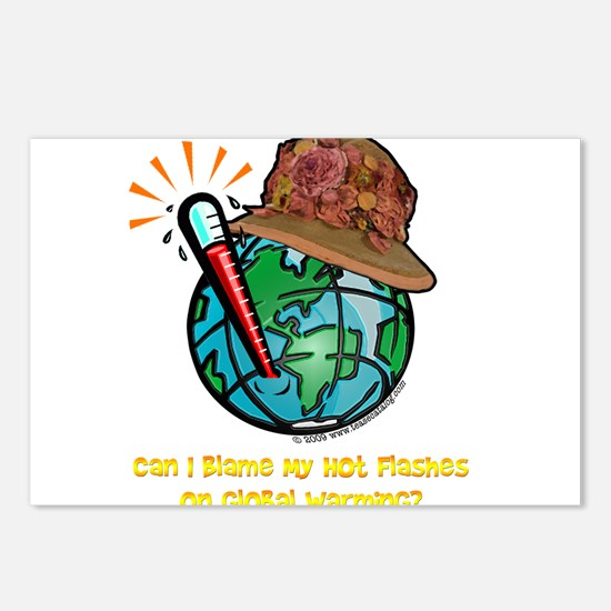 Hot Flashes Postcards (Package of 8)