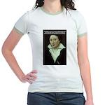 Romantic Writer: Percy Shelley Jr. Ringer T-Shirt