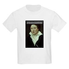 Romantic Writer: Percy Shelley Kids T-Shirt