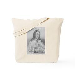 Shakespeare: Beauty of Juliet Tote Bag