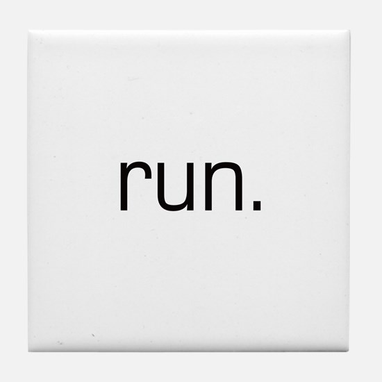 Run Tile Coaster