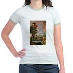 Hamlet Famous Soliloquy Jr. Ringer T-Shirt