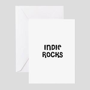 INDIE ROCKS Greeting Cards (Pk of 10)
