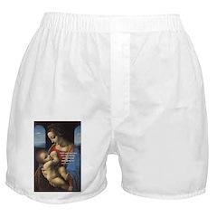 Woman and Child: Da Vinci Boxer Shorts