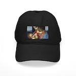 Woman and Child: Da Vinci Black Cap