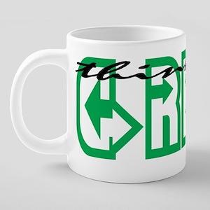 greenmugs8.31 20 oz Ceramic Mega Mug