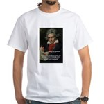 Classical Music: Beethoven White T-Shirt