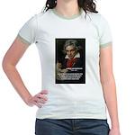 Classical Music: Beethoven Jr. Ringer T-Shirt