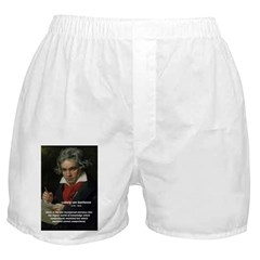 Classical Music: Beethoven Boxer Shorts