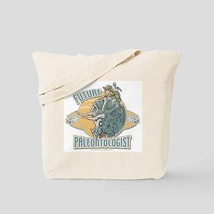 Girl Paleontologist Tote Bag