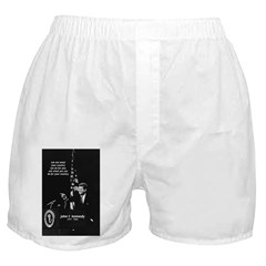 John F. Kennedy JFK Men's & Women's Boxers