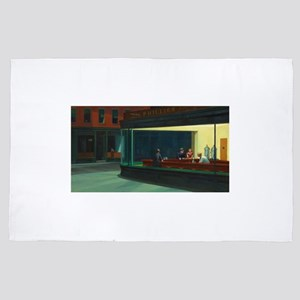 Nighthawks - Edward Hopper 4' x 6' Rug