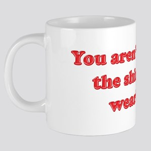 Phrase_NotWorthMyShirt 20 oz Ceramic Mega Mug