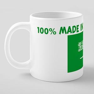 100_PERCENT_MADE_IN_SAUDI_A 20 oz Ceramic Mega Mug
