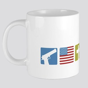 GOPPriorities-DARK 20 oz Ceramic Mega Mug
