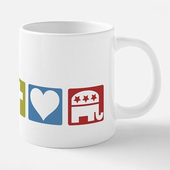 GOPPriorities-DARK.png 20 oz Ceramic Mega Mug