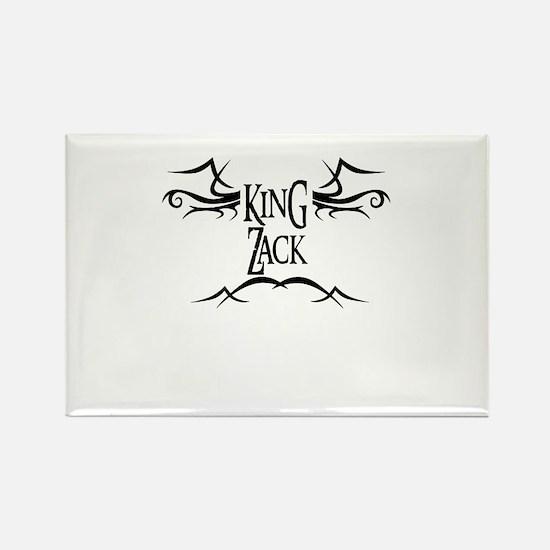 King Zack Rectangle Magnet