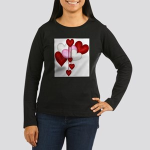 Romantic Hearts Long Sleeve T-Shirt