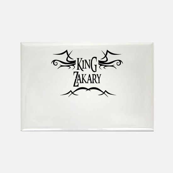 King Zakary Rectangle Magnet