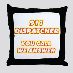 911 Dispatcher-1 Throw Pillow