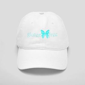 gluten-free butterfly (teal) Cap