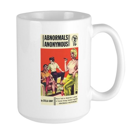 "Large Mug - ""Abnormals Anonymous"""