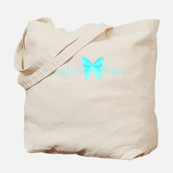 gluten-free butterfly (teal) Tote Bag