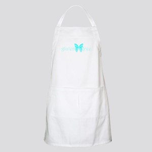 gluten-free butterfly (teal) BBQ Apron