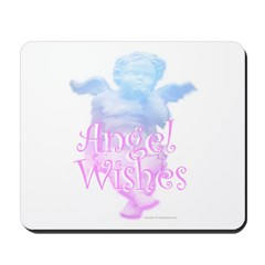 Angel Wishes Mousepad