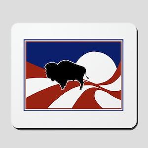 Solitaire Buffalo Mousepad