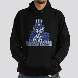 Don't Ignore the Constitution Hoodie (dark)