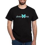 gluten-free butterfly (teal) Dark T-Shirt